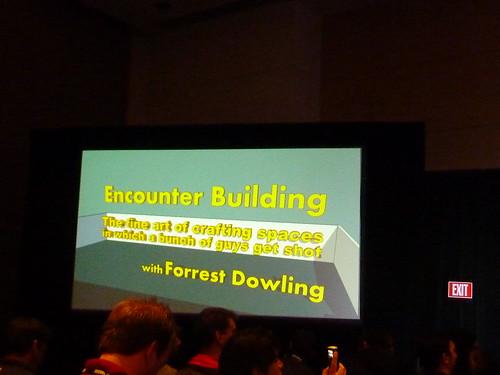 GDC 2011 Level Design Encounter Building