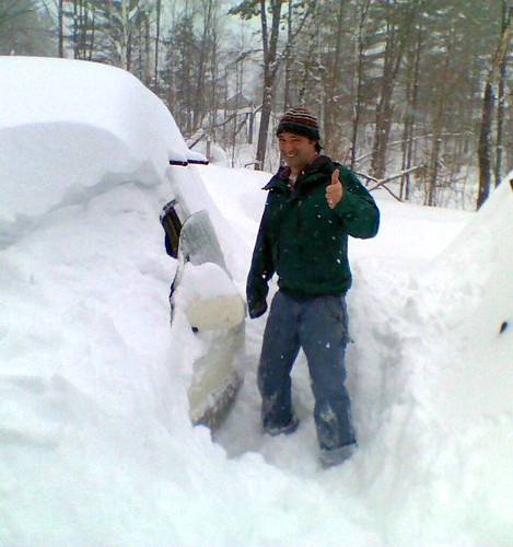 neil in the big snow