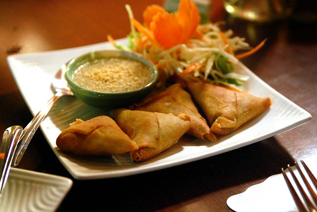 Cha Thai Restaurant Orange Ca Menu