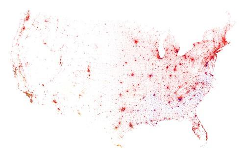 Contiguous United States, Census 2000