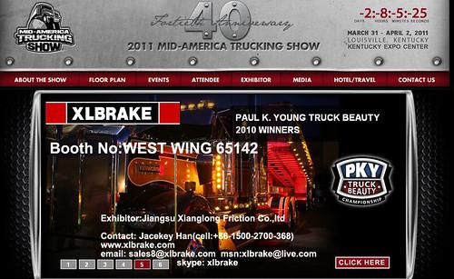 USA MTAS 2011 XIANGLONG XLBRAKE Jackey Han xlbrake.com@gmail.com by jackeyhan