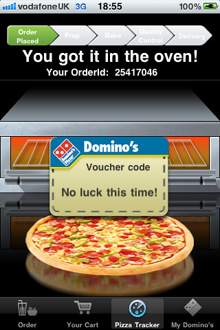Dominos voucher gamefication