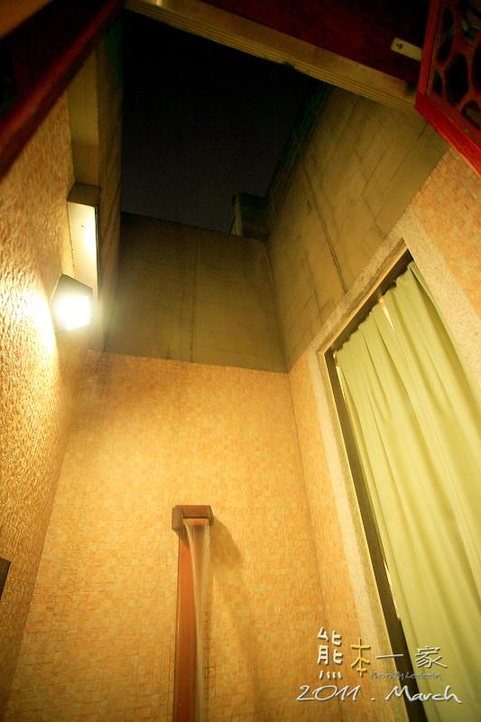 [新北土城汽車旅館] 有馬溫泉Motel~沒有景觀的露天湯池 - 熊本一家の愛旅遊瘋攝影