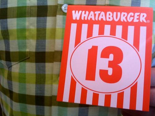 Whataburger!