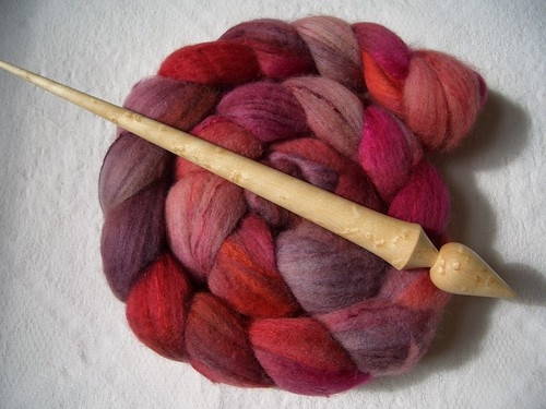 Gripping Yarn Russian in Birds Eye Maple