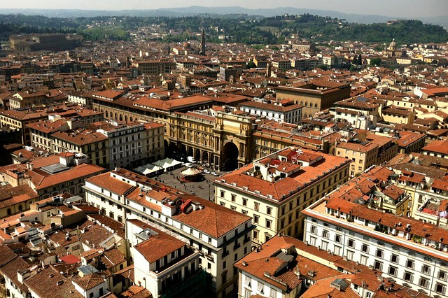 View of Florence from the Campanile