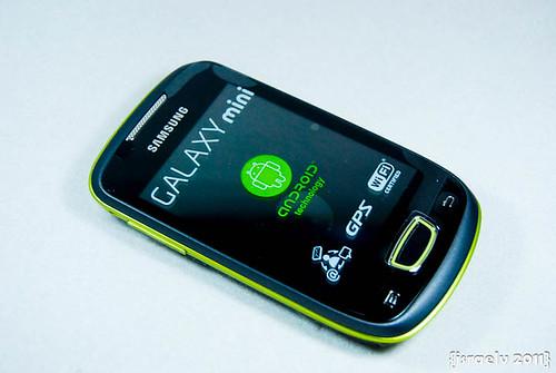 Samsung GALAXY mini by israelv