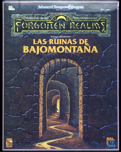 Las Ruinas de Bajomontaña