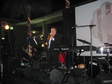Co-Chair of Transplant Foundation's Emerald Nights at Jungle Island, Miami, Fla.