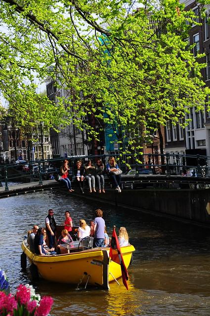Fiesta en barca