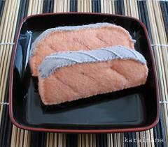 Felt food salmon