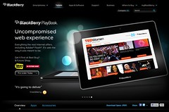 BlackBerry Playbook (RIM co-CEO Mike Lazaridis BBC interview)