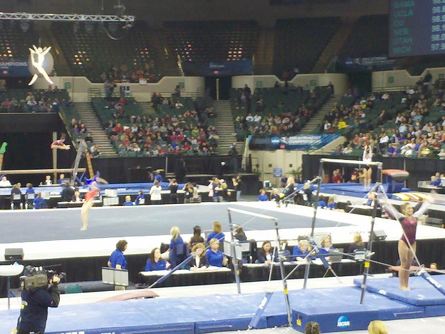 NCAA Womens Gymnastics Super Six 2011
