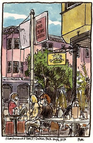 sketchcrawl 31 dolores park cafe