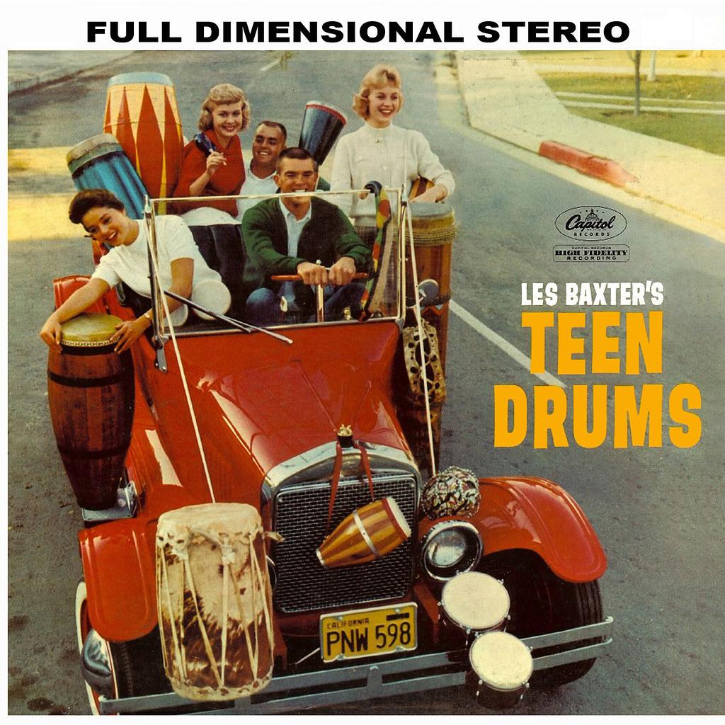 Les Baxter - Teen Drums