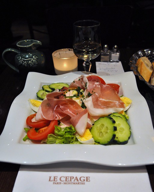 My last dinner in Paris