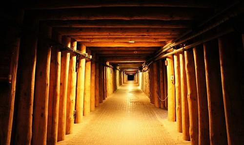 travel 3 europe mine sony salt poland krakow tunnel... (Photo: chloe.kykam on Flickr)