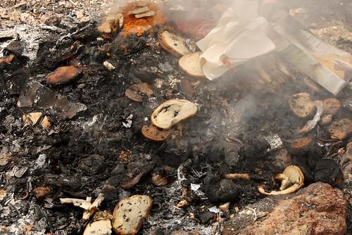Burning Chametz (leavened foods)