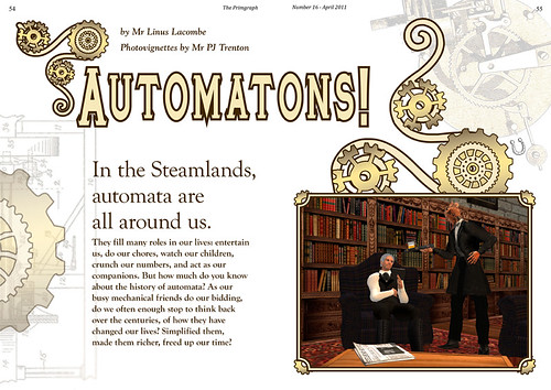 The Primgraph: Issue 16 - Automatons!