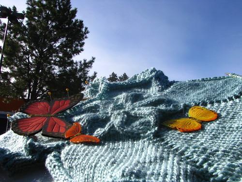 Test Knit:  Flower T-Shirt Seamless Assembled