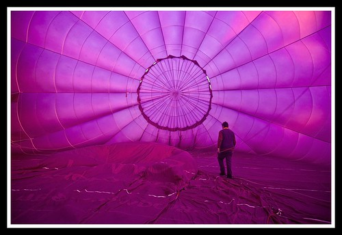 Hot Air Balloon being infated-2