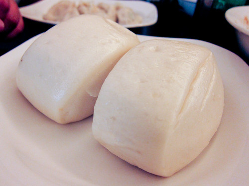 Mantou at Peace and Happiness Dimsum House
