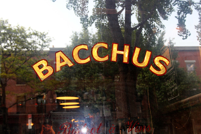 Rehearsal Dinner at Bacchus