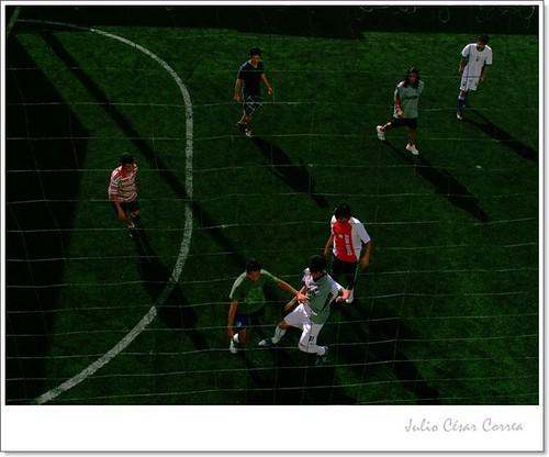 Jugadores (2) by Julio César Correa