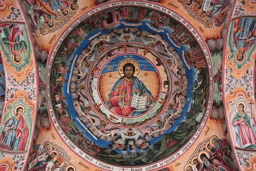 Rila Monastery Ceiling Painting