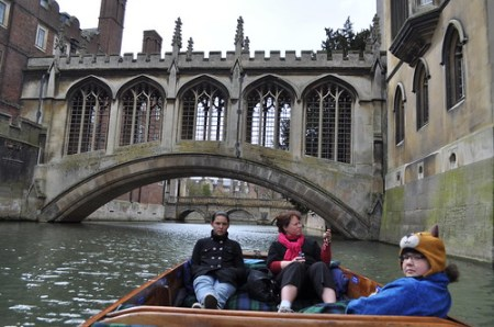 Scenes from punting