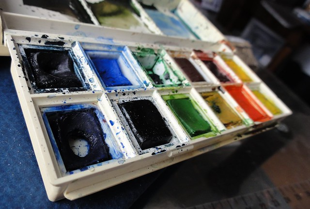My old paint set