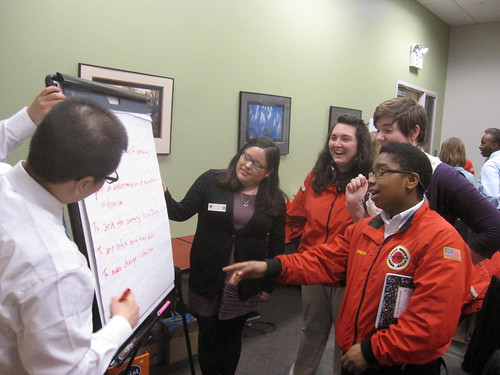 City Year at Comcast Career Day