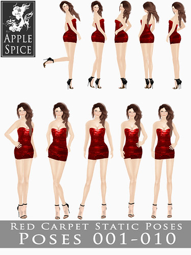 Apple Spice - Red Carpet Static Poses