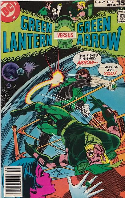 Green Lantern Sucker Punch