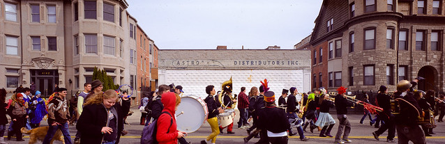 cass corridor - detroit party marching band