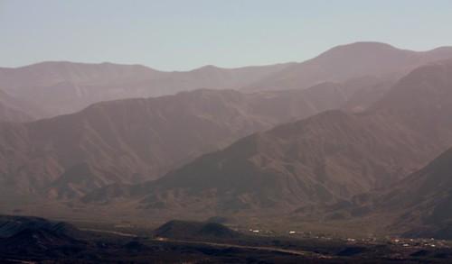 Vista desde la ciudad de Mendoza