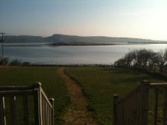 View over Mulroy Bay from Anam Mara kitchen