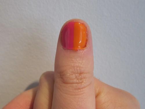 My Rainbow Nails Right Thumb