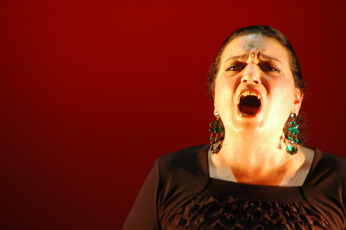 Soprano, from the world of Flamenco, Spain