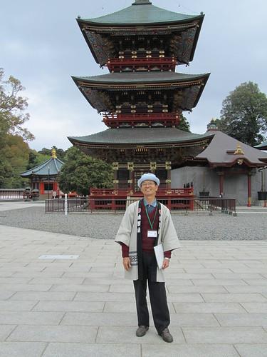 Free English tour guide at Narita-san Shinsho-ji