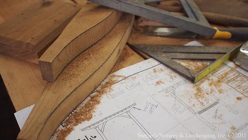 Crafting a Classic Cedar Pergola