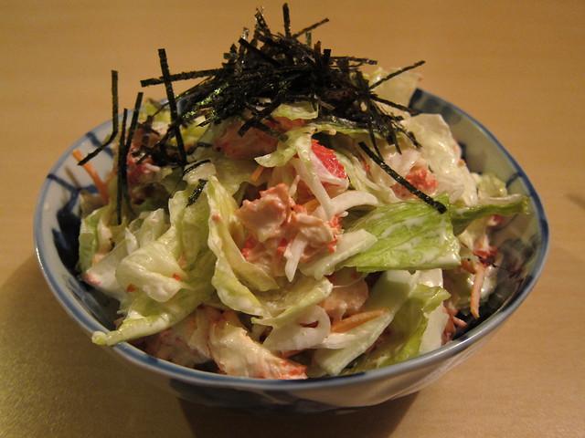 Best kani salad, Tsukiji