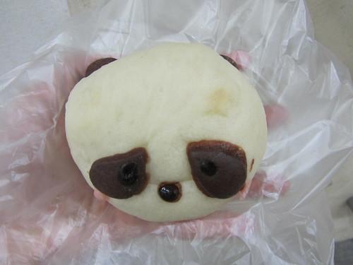 Panda cake from a bakery near Ueno Zoo