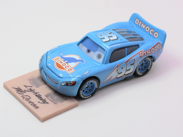 disney cars chase dinoco mcqueen with celebrity signature (4)