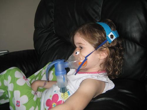 Breathe Easy Nebulizer Mask Holder