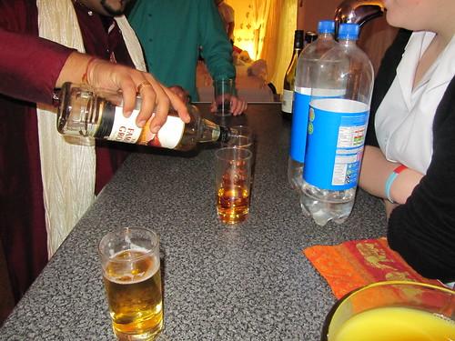 Your drinks sir...!