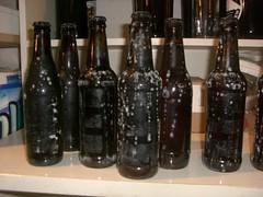 moldy bottles