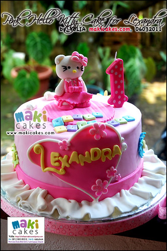 Pink Hello Kitty Cake for Lexandra - Maki Cakes
