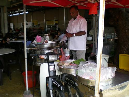 Mobile Indian hawker Penang