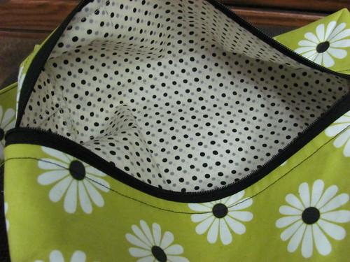 daisy bag -inside